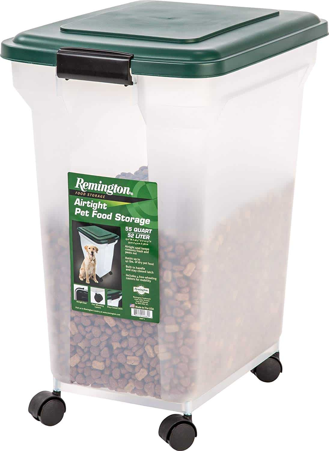 Remington Cat Food Containers