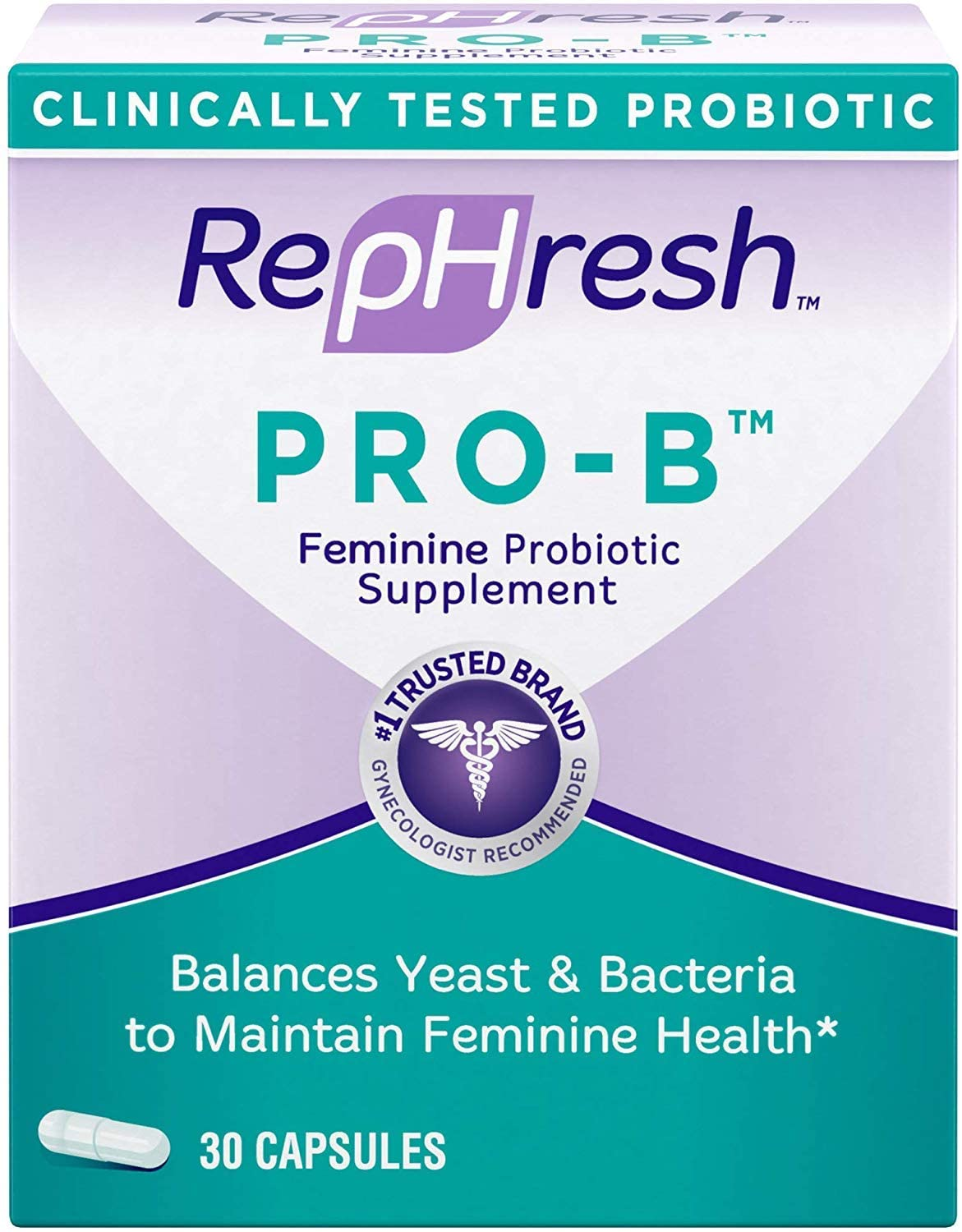 RepHresh Pro B Probiotic Supplement