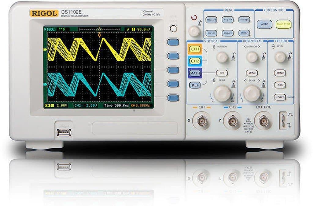 Rigol 100MHz DS1102E Digital Oscilloscope