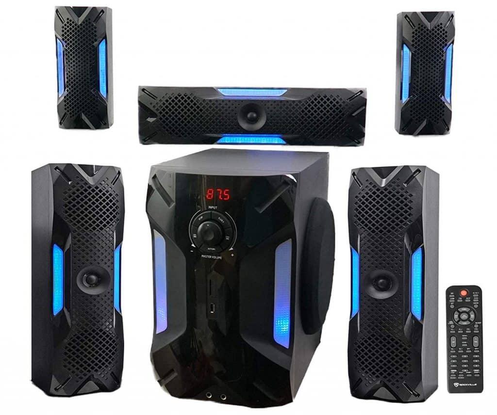 Rockville HTS56 5.1 Channel Speaker