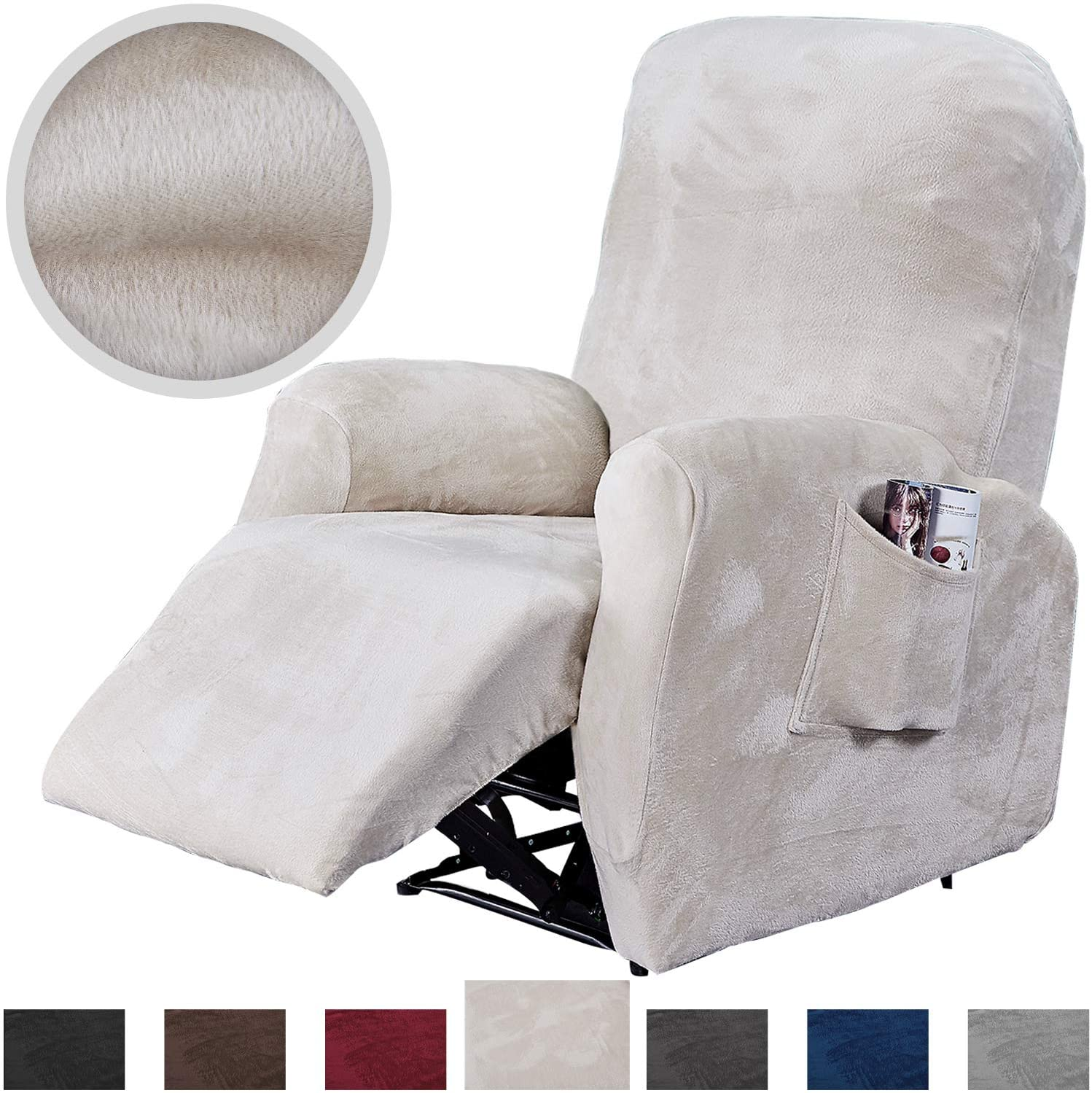 Rose Home Fashion Recliner Chair Slipcover