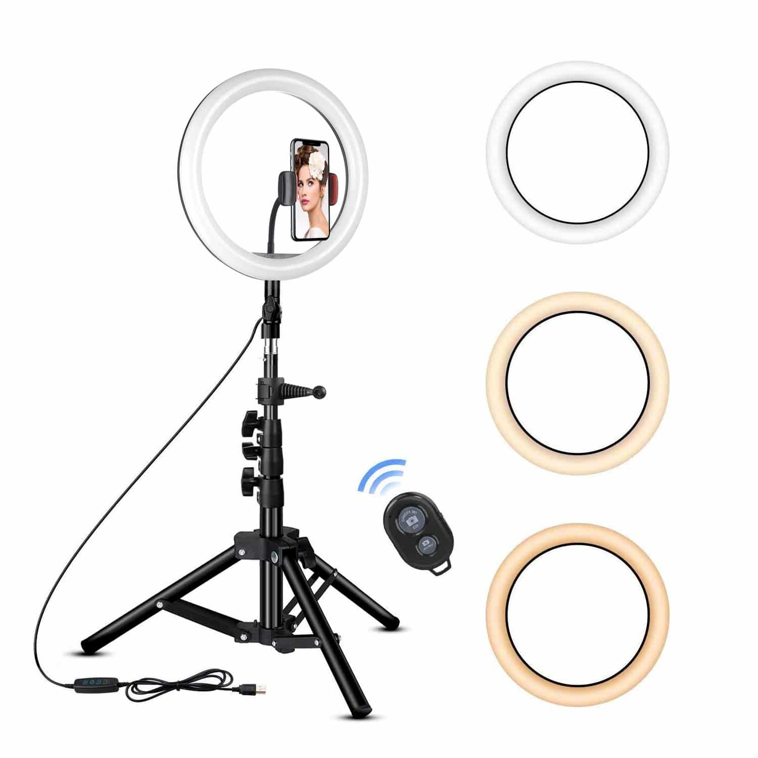 Rovtop Ring Light with Stand