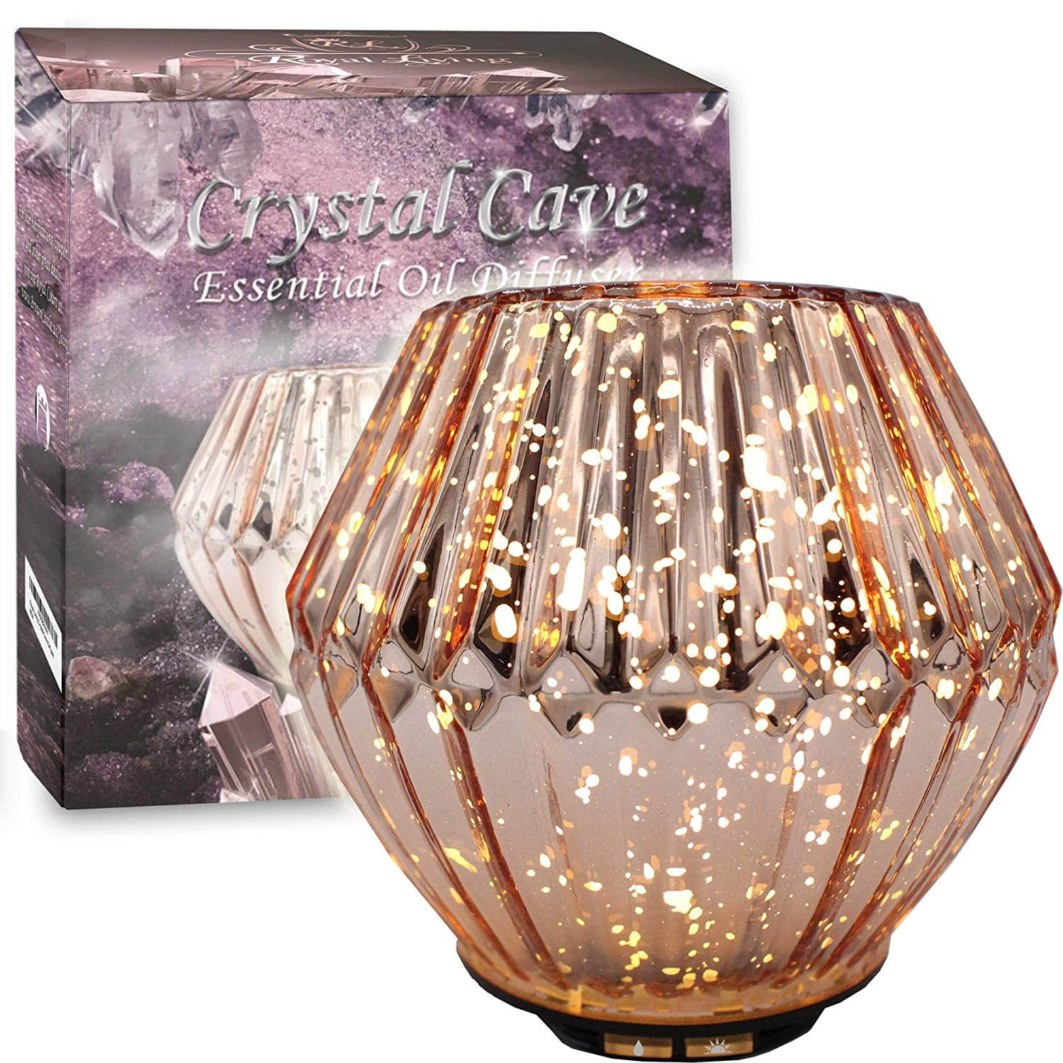 Royal Living Crystal Cave Essential Oil Diffuser