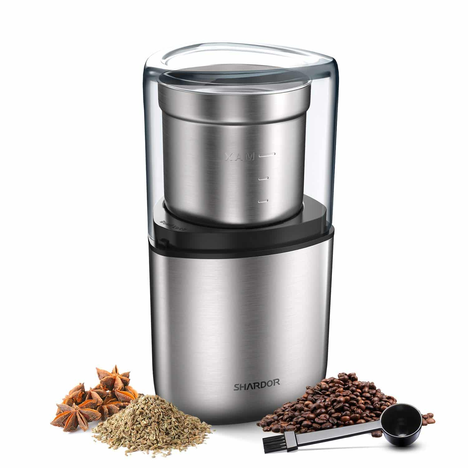 SHARDOR Electric Coffee Bean and Spice Grinder