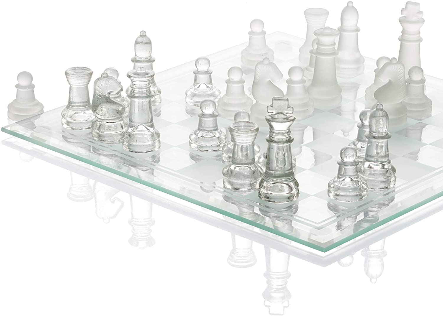 SRENTA Fine Glass Chess