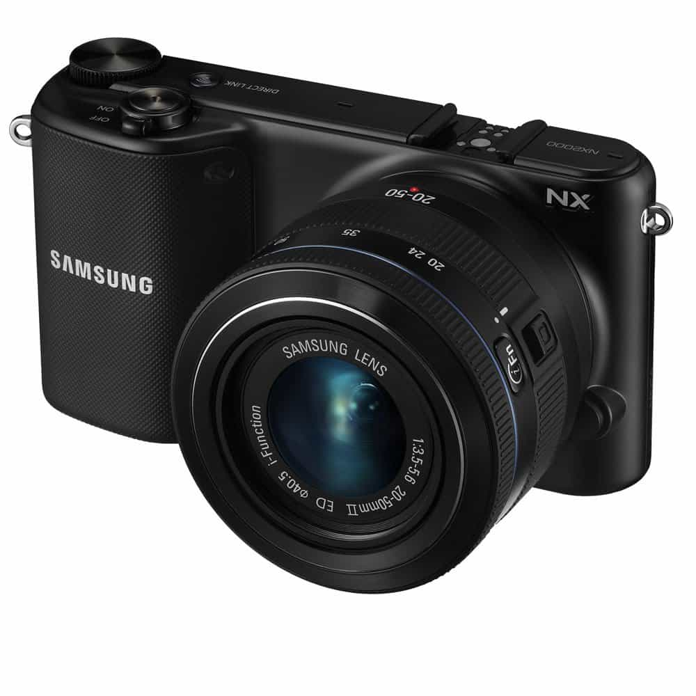 Samsung NX2000 CMOS Mirrorless Digital Camera