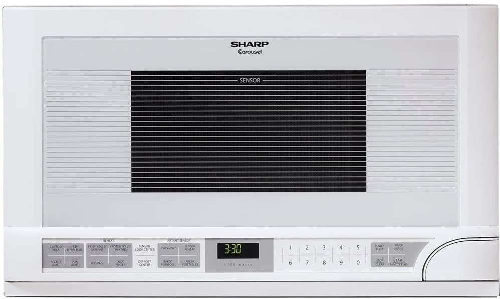 Sharp R-1211 Over the Counter Microwave