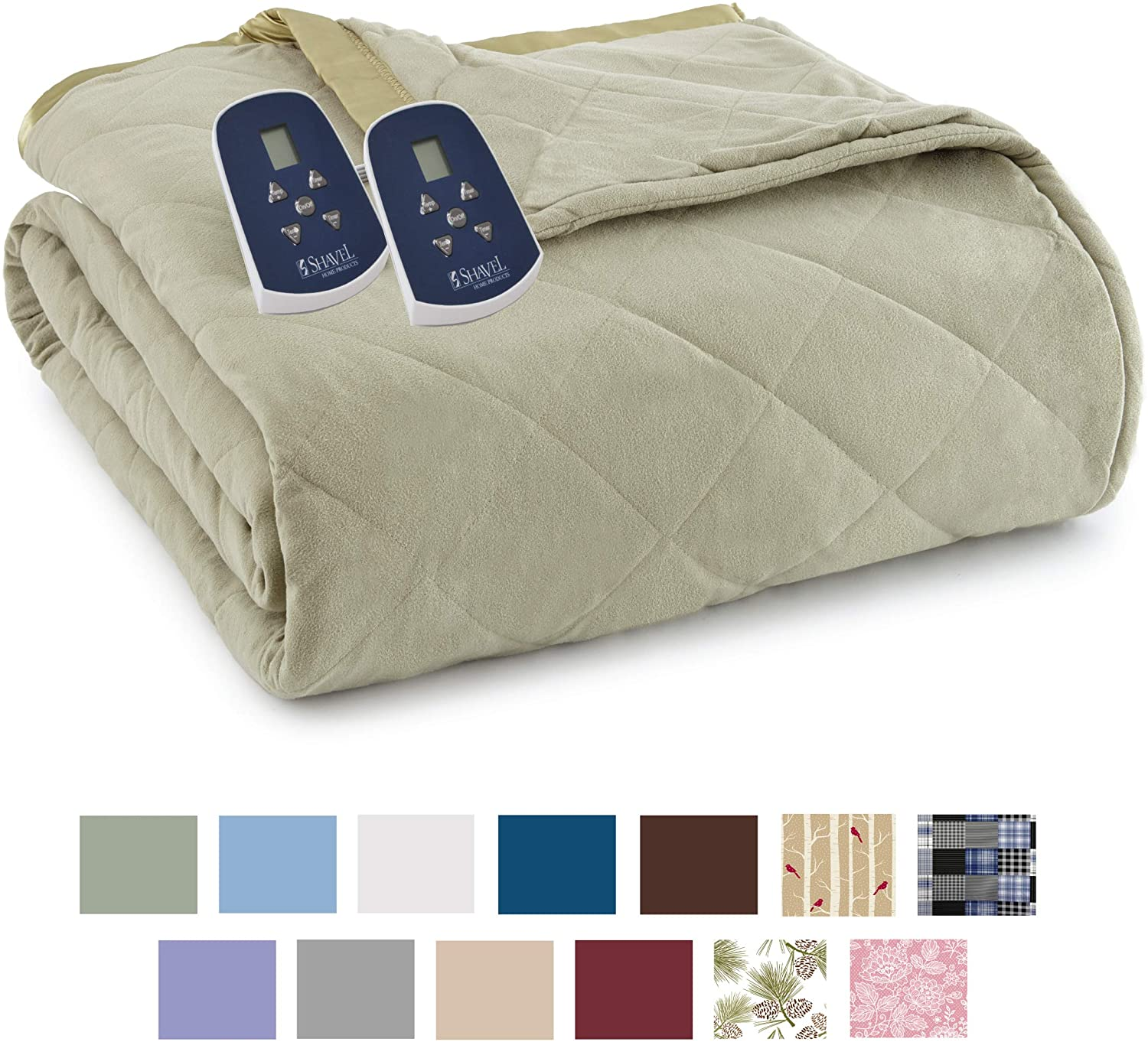Shavel Home Products Electric Blanket