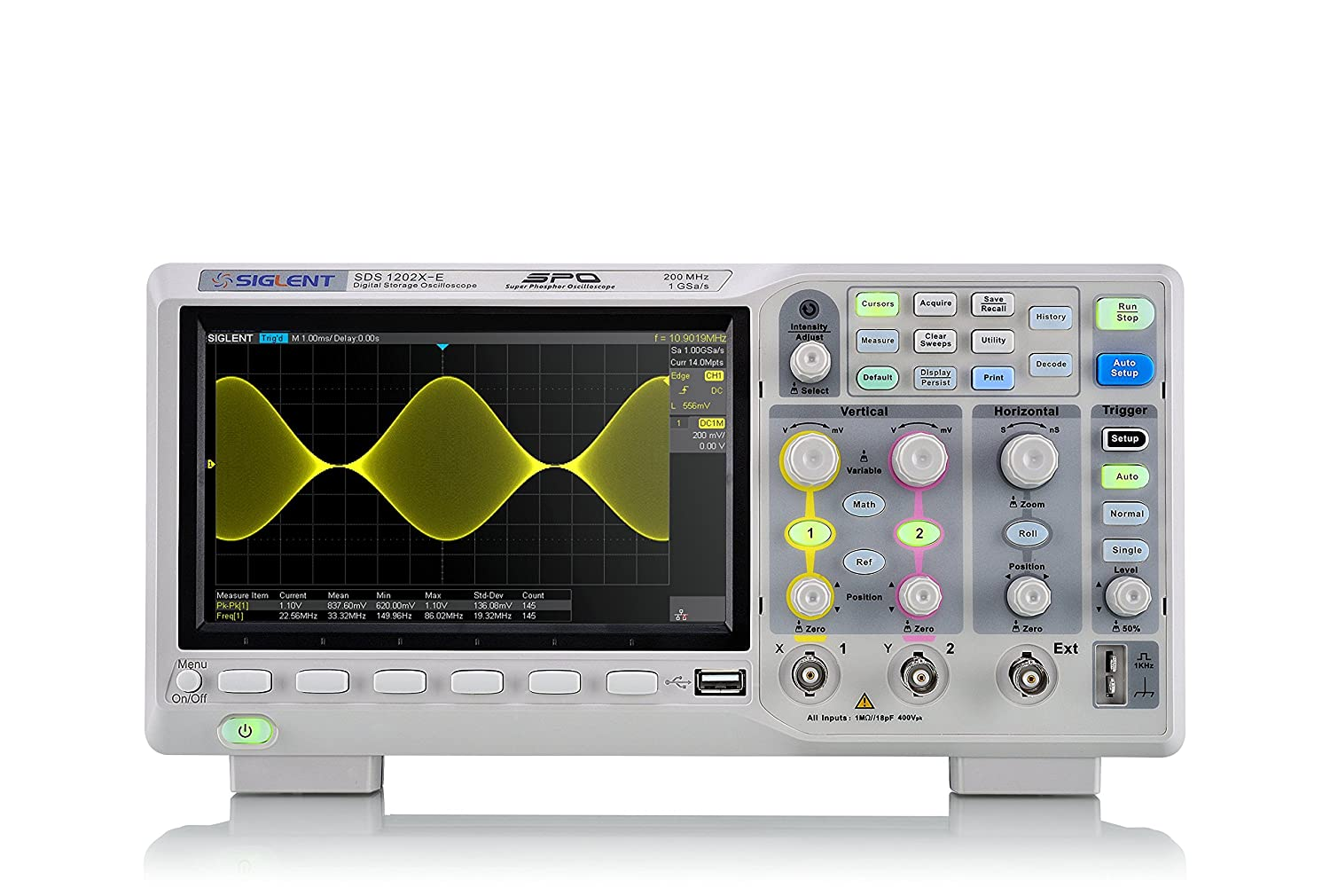 Siglent SDS1202X-E Technologies Digital Oscilloscope