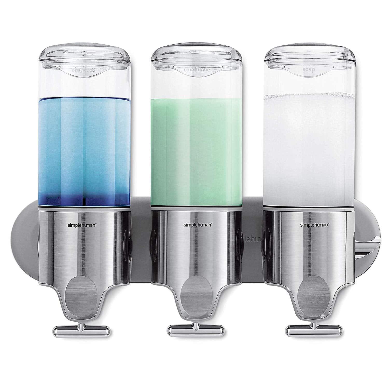 Simplehuman Wall Mount Shampoo Dispenser