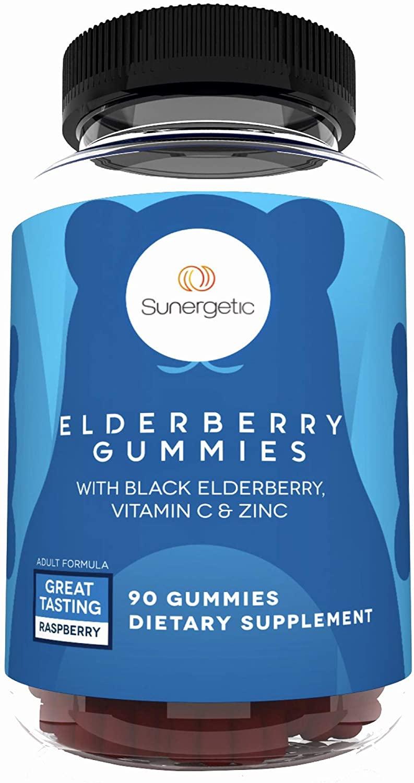 Sunergetic Elderberry Gummies