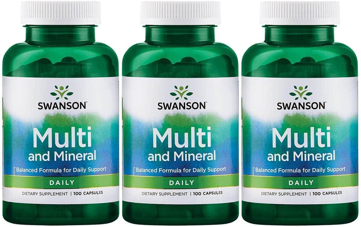 Swanson Mineral and Multi Daily Men and Women Multivitamin