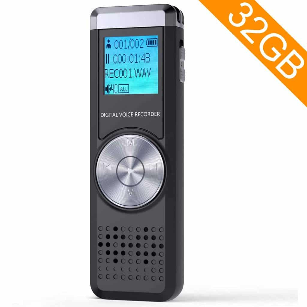 TENSAFEE Digital Voice Recorder