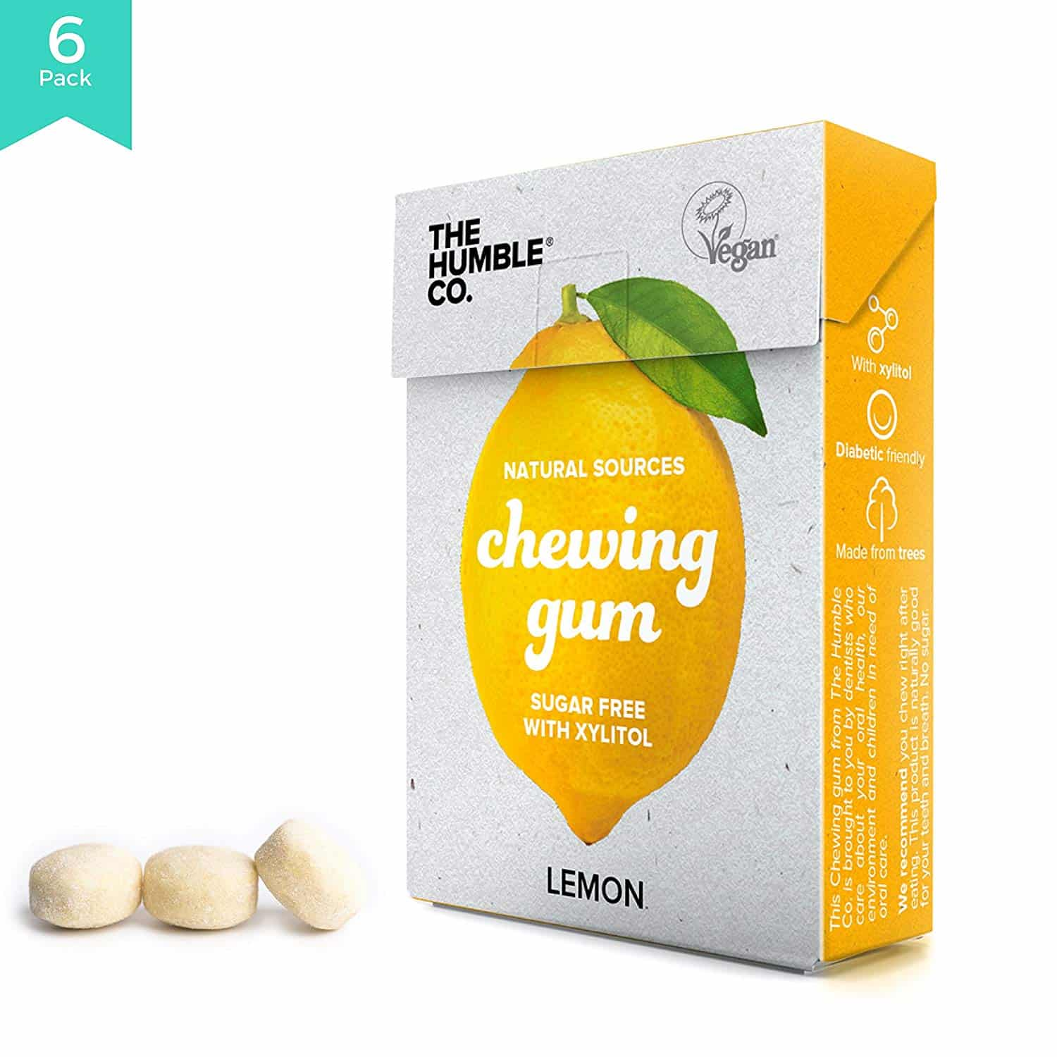 The Humble Co. Aspartame-free Chewing Gum