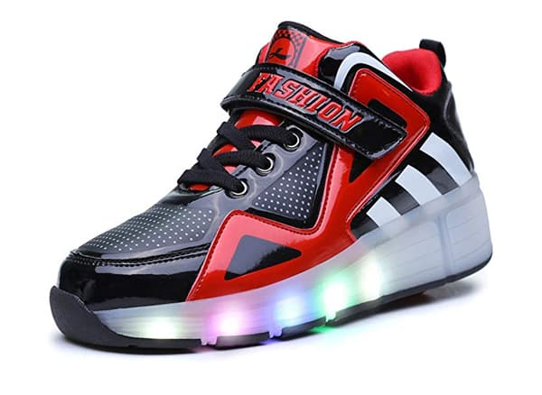 Ufatansy Uforme Kids High-Top LED Shoes