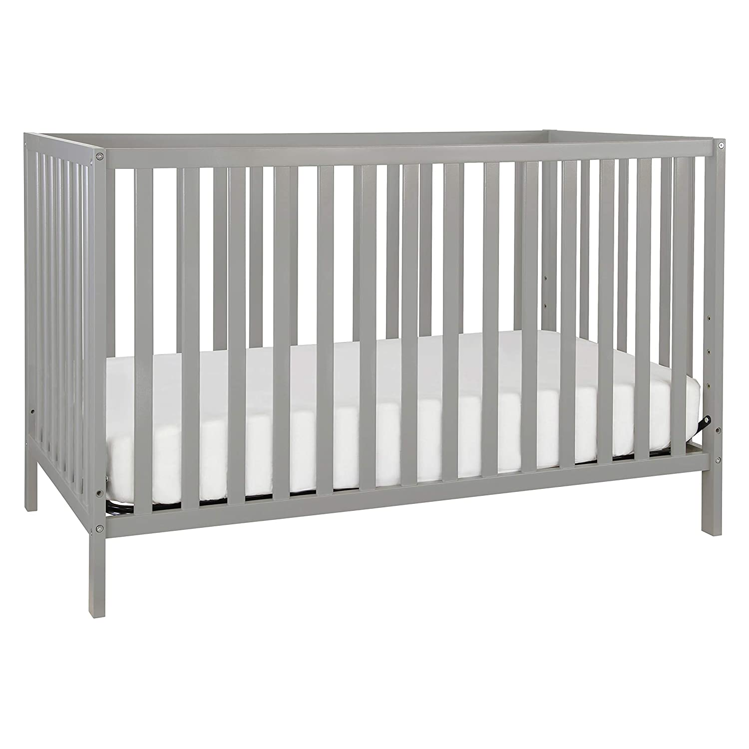 Union 3-in-1 Convertible Crib in Grey