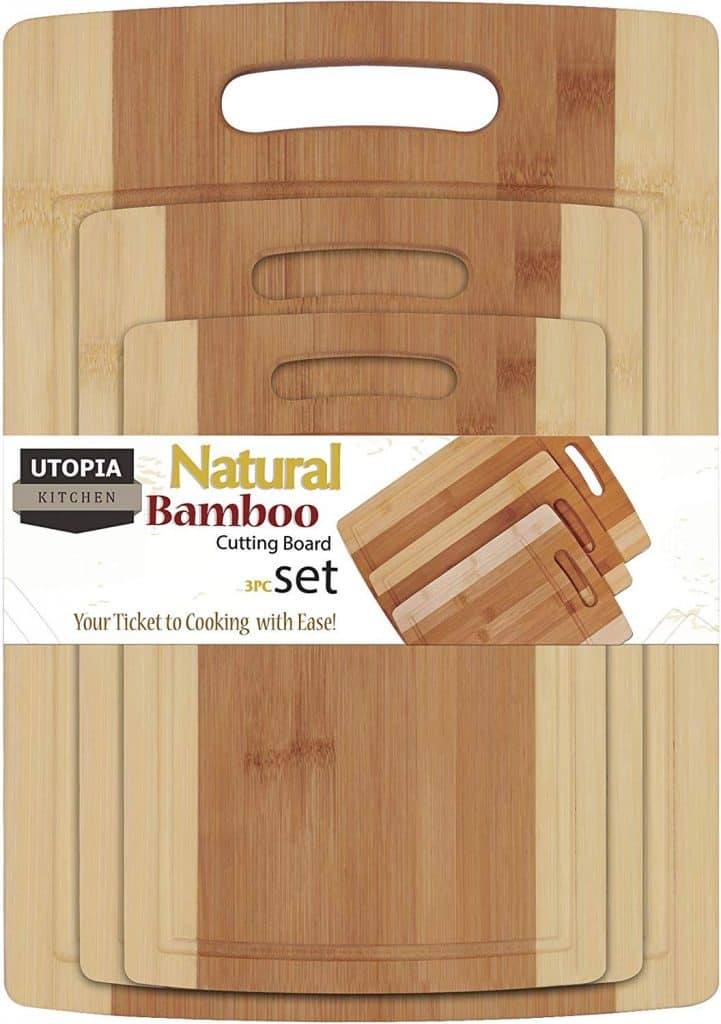 Utopia Kitchen Bamboo Cutting Boards
