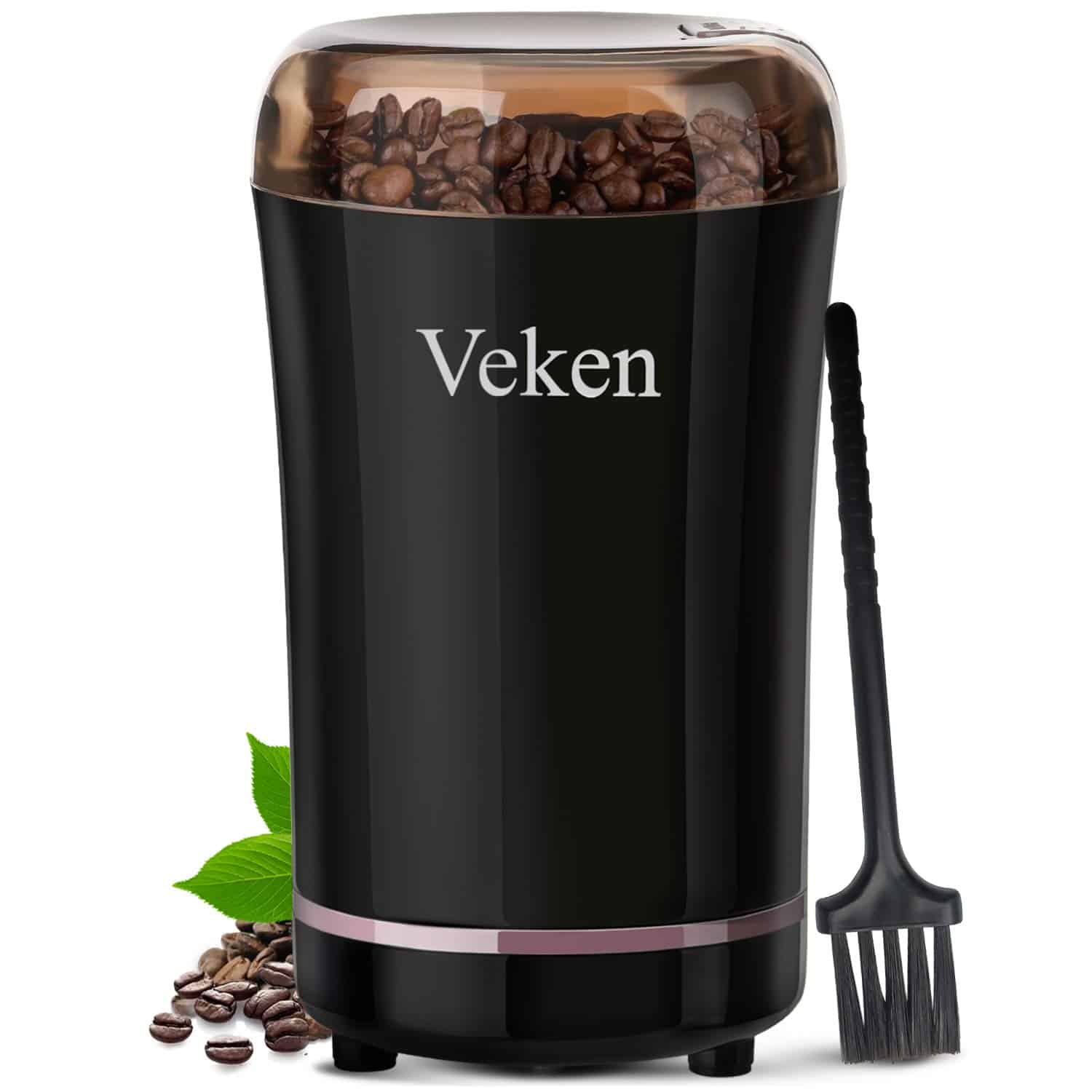 Veken Electric Coffee and Spice Grinder
