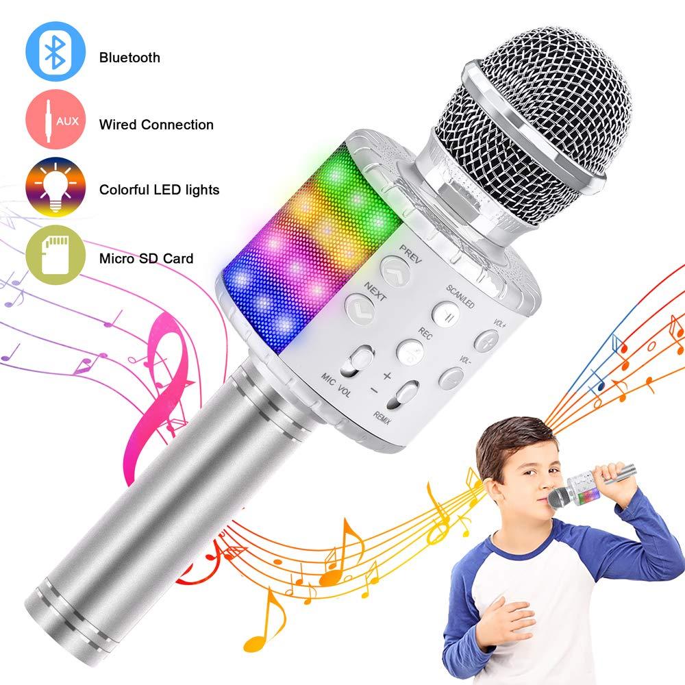 Verkstar Wireless Bluetooth Handheld Karaoke Machine Speaker