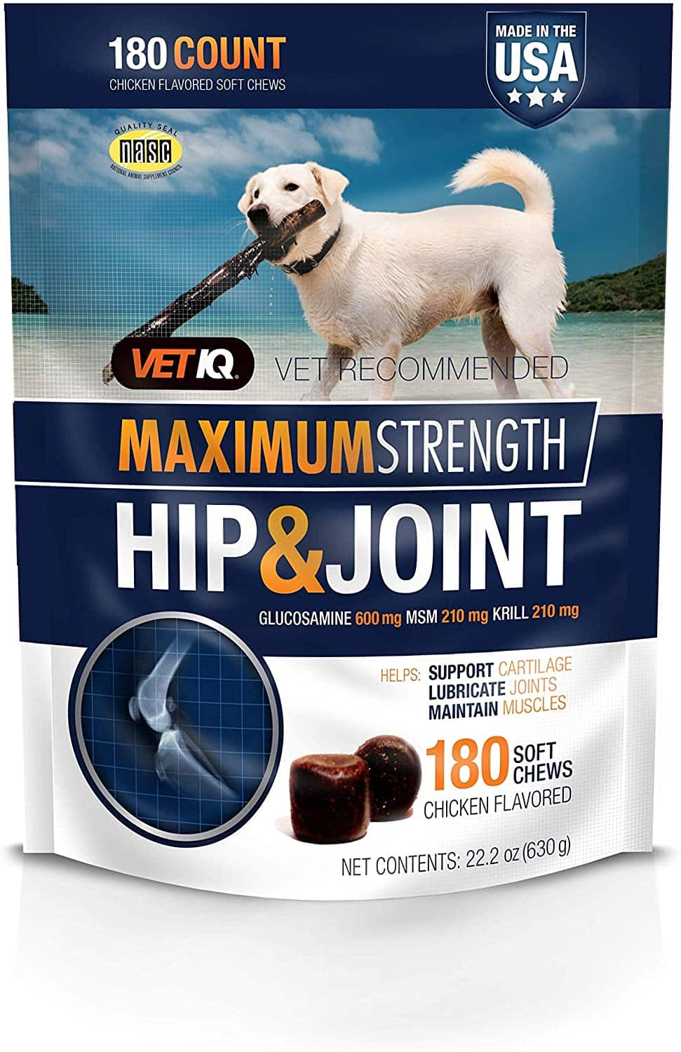 VetlQ Joint Supplements for Dogs