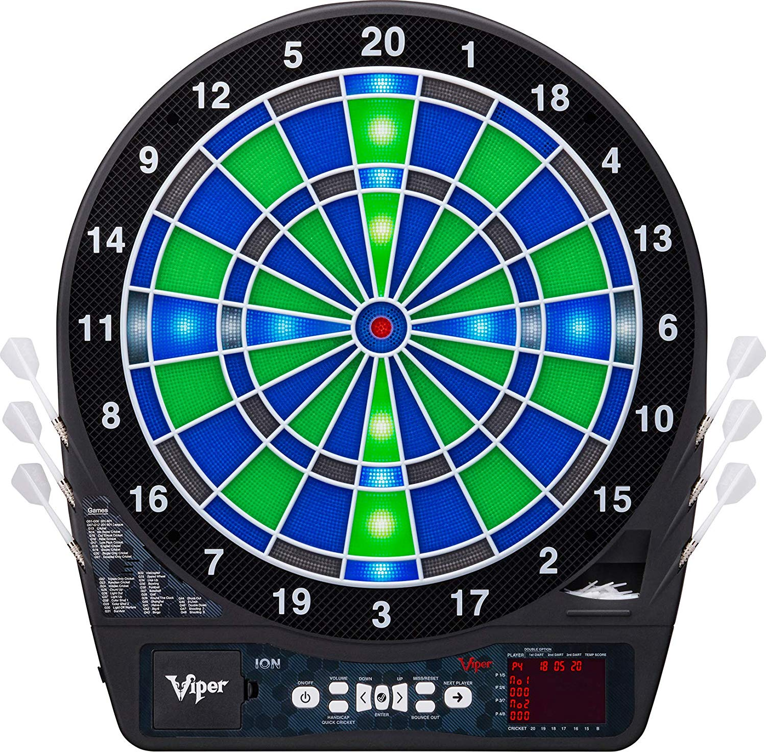Viper Ion Electronic Dartboard