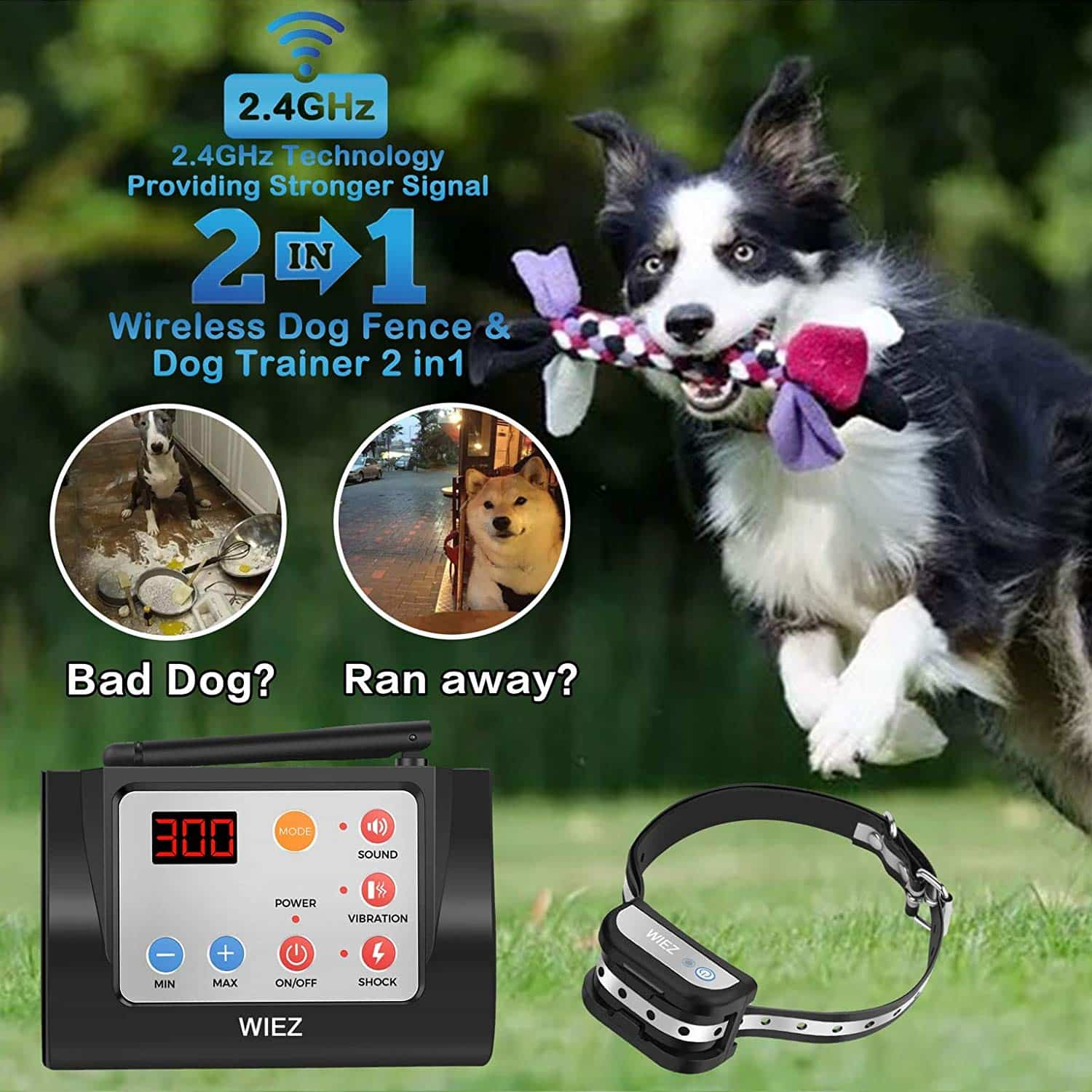 WIEZ Wireless Electric Dog Fence