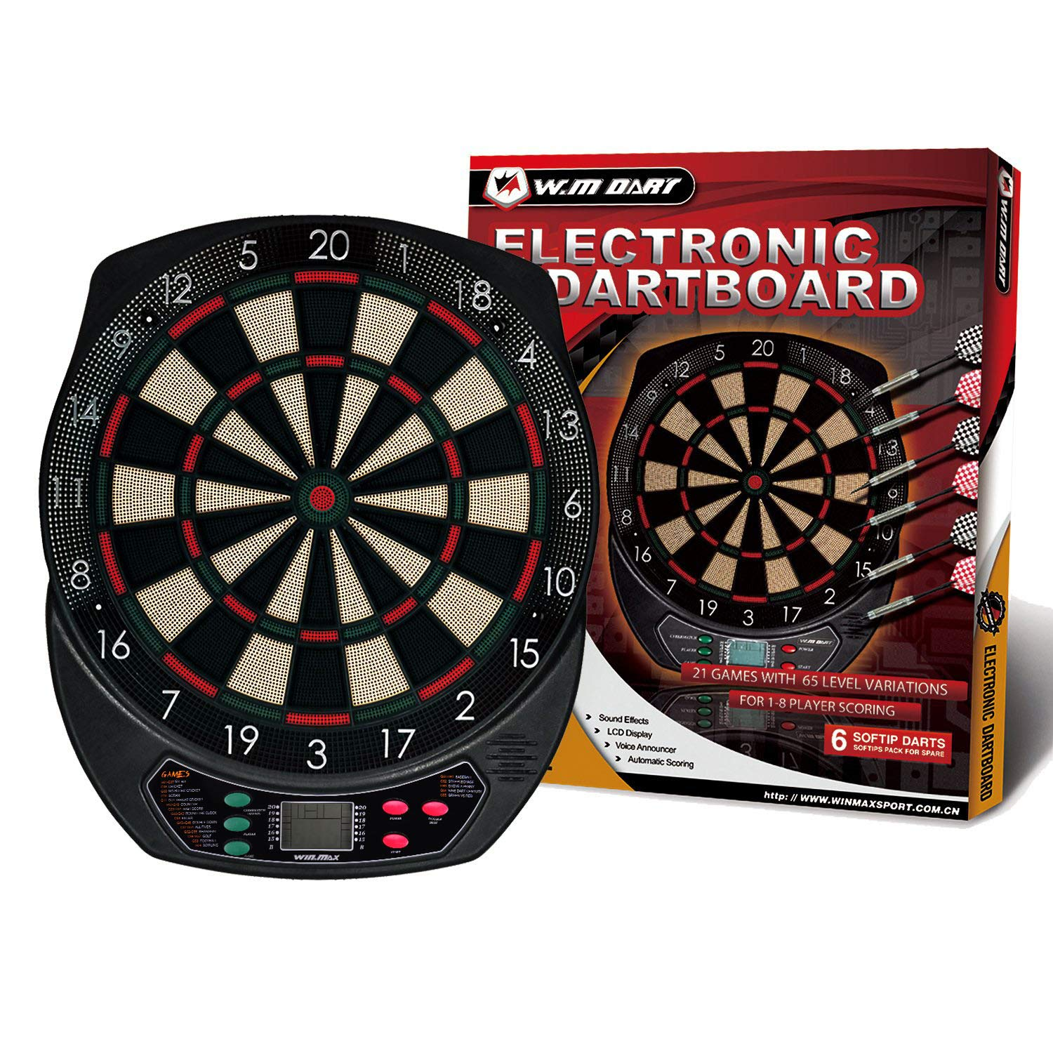 WIN.MAX Electronic Dart Board