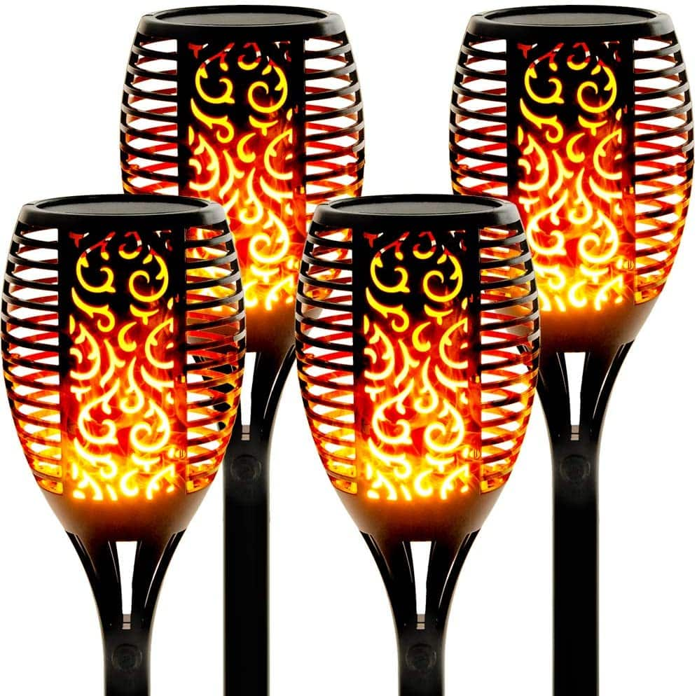 Walensee Solar Flame Torch LED Light