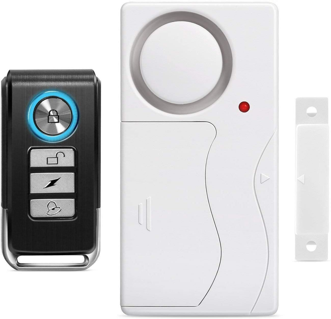Wsdcam Wireless Anti-Theft Remote Control Window Alarms