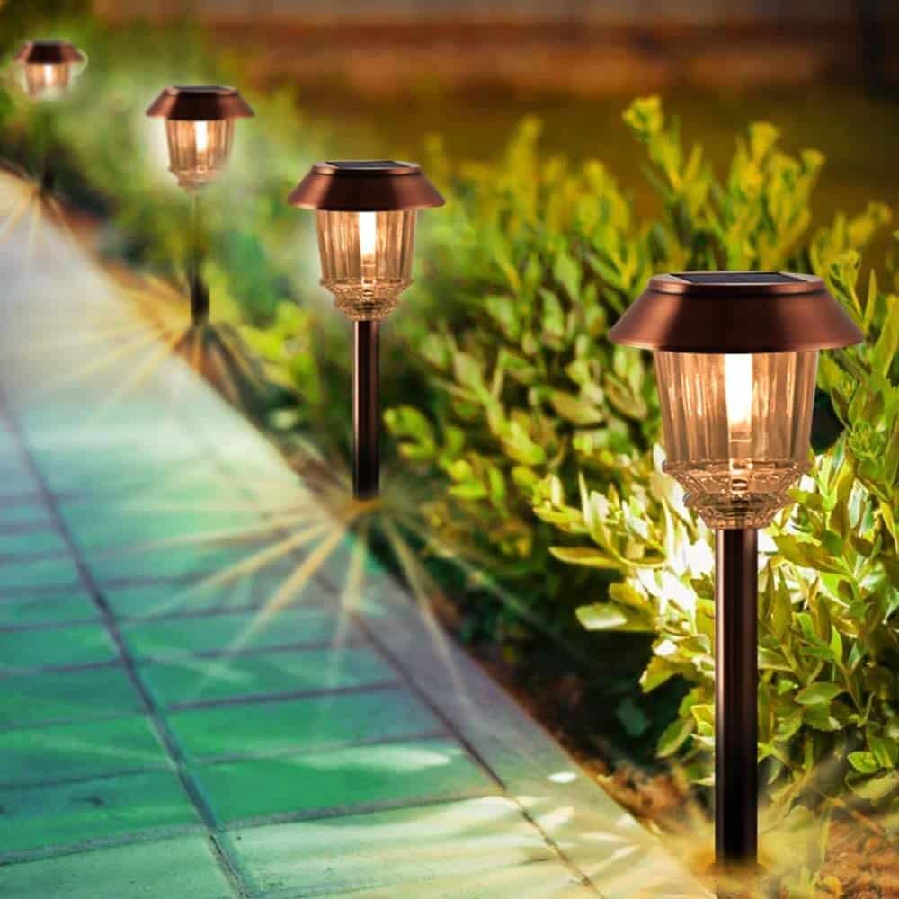 XMCOSY+ Solar Pathway Lights