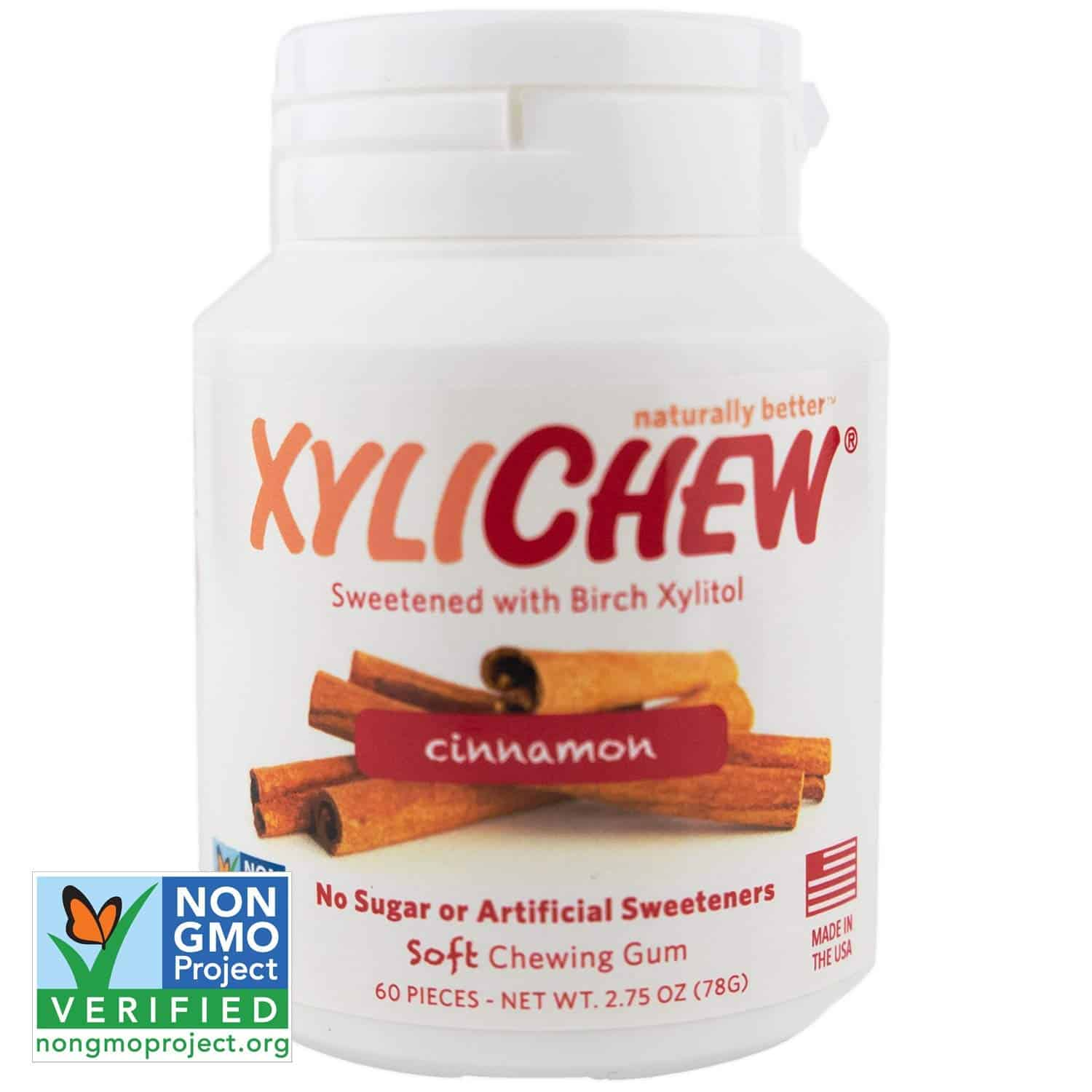 Xylichew 100% Xylitol Chewing Gums (378)