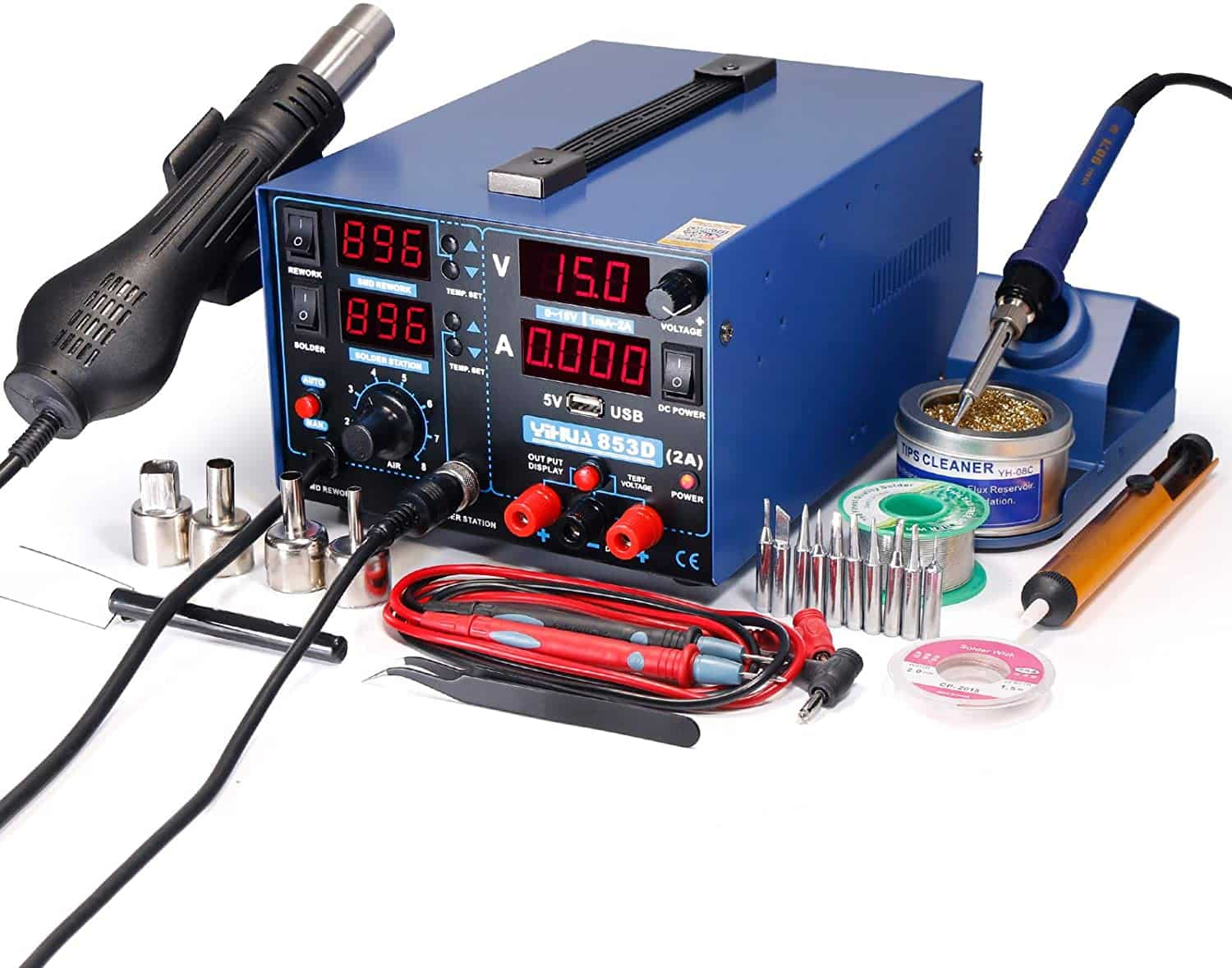 YIHUA 853D 2A Soldering Iron Station