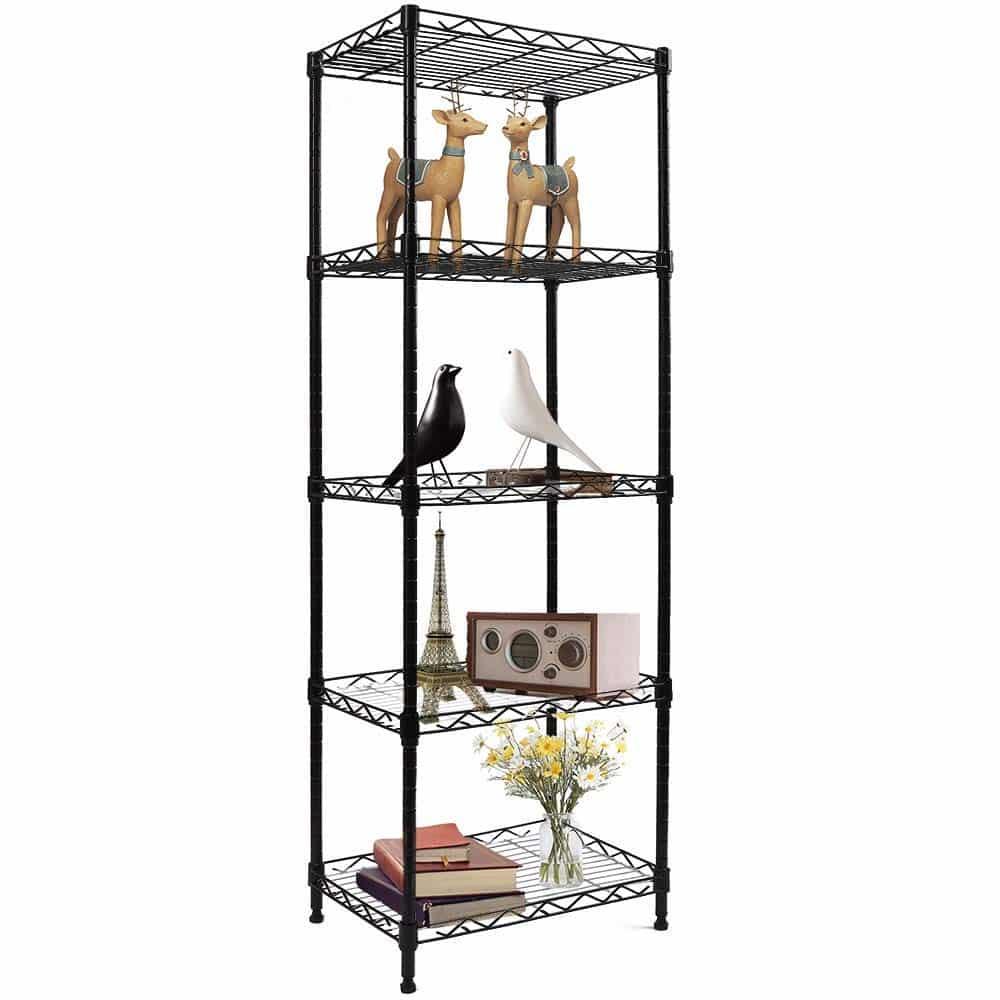 YOHKOH 5-Wire Organizer Rack Stand