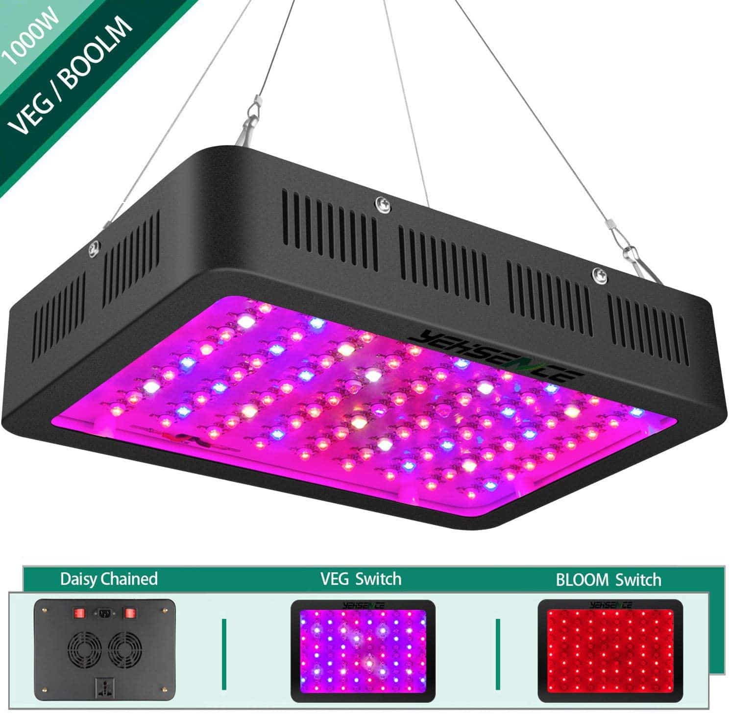 Yehsence LED Grow Light