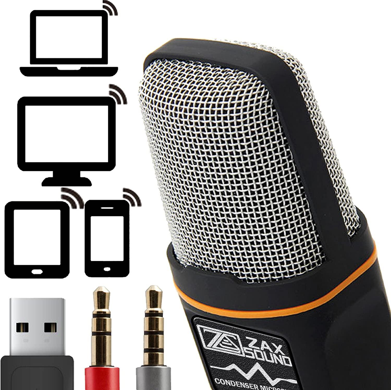 ZaxSound Cardioid Condenser Microphone