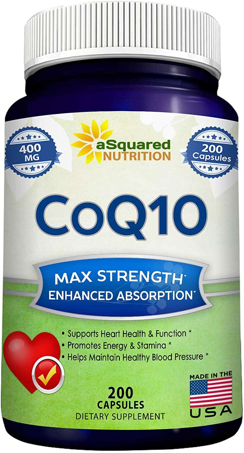 aSquared Nutrition CoQ10 Supplements