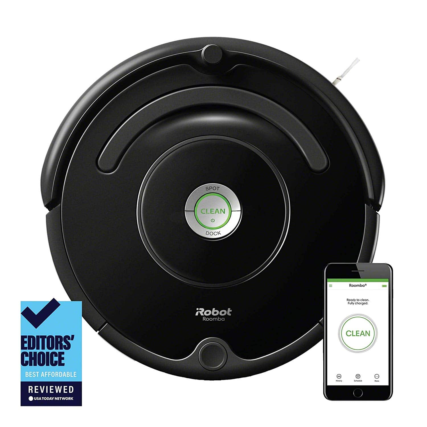 iRobot Roomba Robot Vacuum-WIFI Connectivity