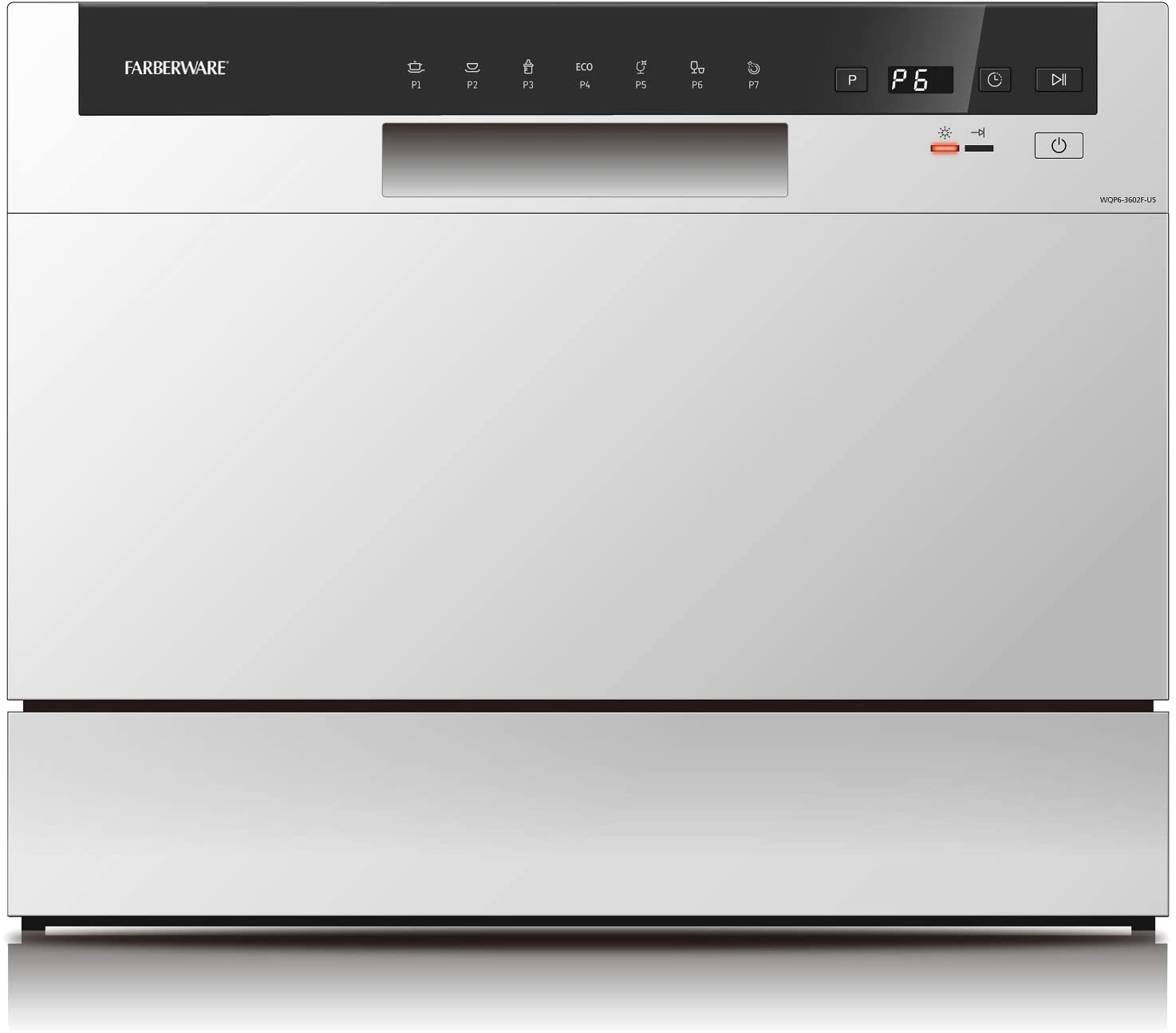 Farberware FCD06ABBWHA Countertop Dishwasher