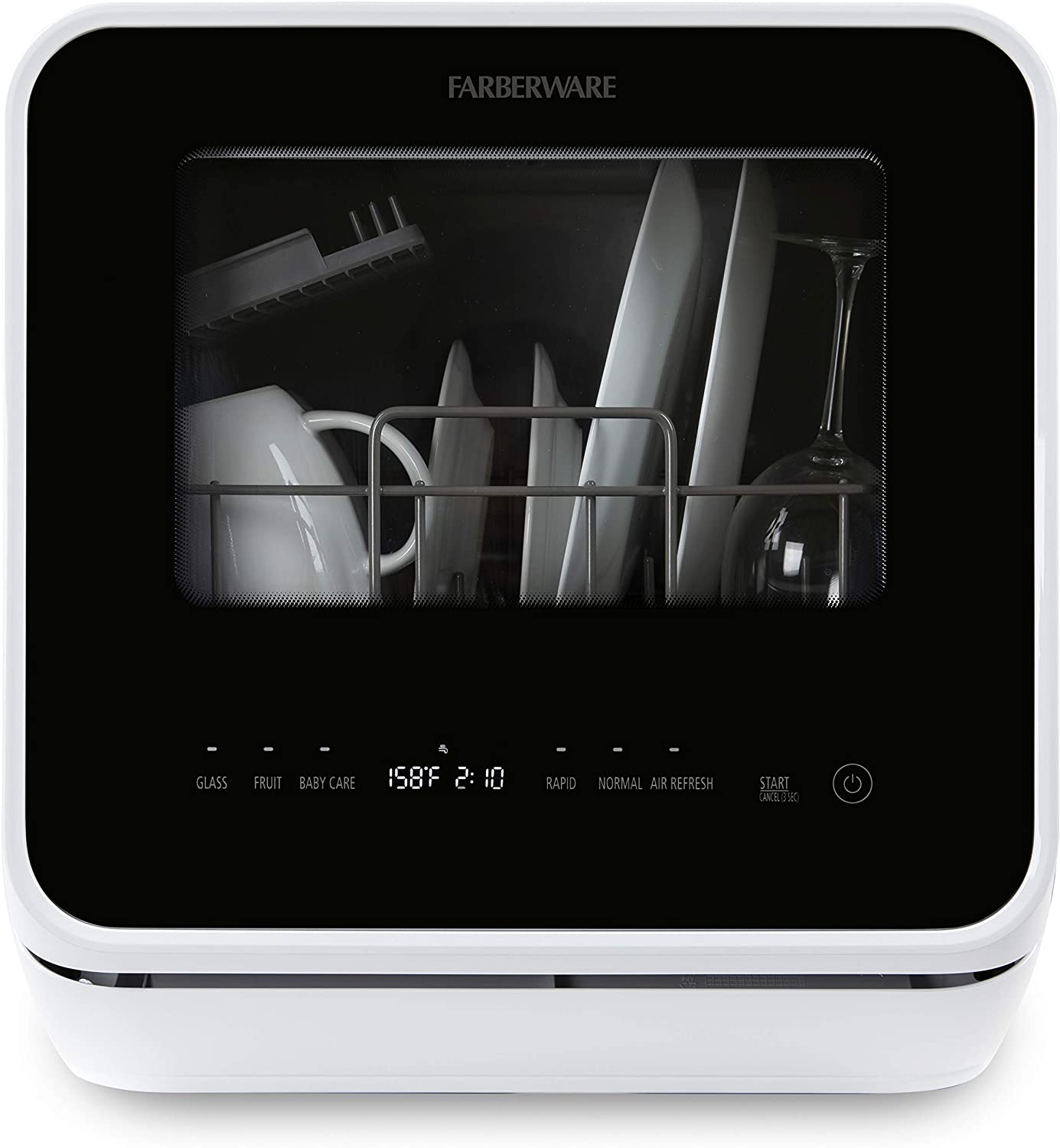 Farberware FDW05ASBWHA Countertop Dishwasher