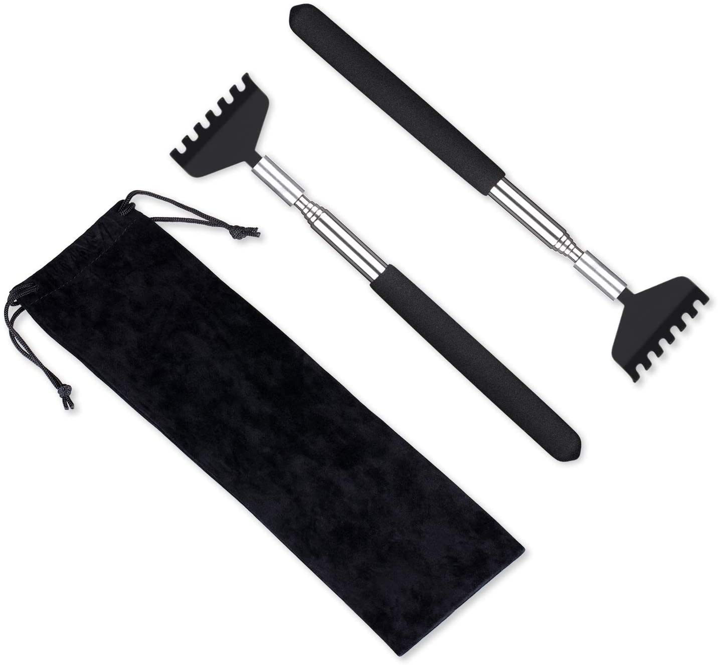 Flanker-L 2-Pack Portable Extendable Back Scratcher